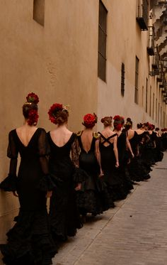 Flamenco | Dance | Passion | Fire | Spain | Black | White | Red