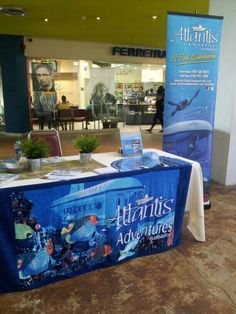 Pop-up Display at Trincity Mall (Trinidad)