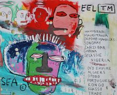 Jean-Michel Basquiat (1960–1988) More Pins Like This At FOSTERGINGER @ Pinterest