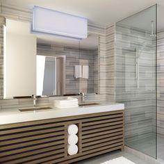 AVIA Hotel bathroom rendering designed by #McCARTAN #luxury #design #interior