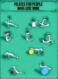 Wine Pilates