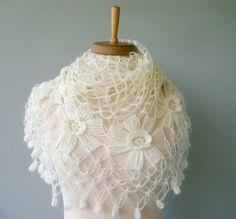 Bolero - beautiful knit shawl at an Etsy shop (not a pattern)
