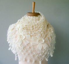 Bolero - beautiful knit shawl at an Etsy shop (not a pattern)