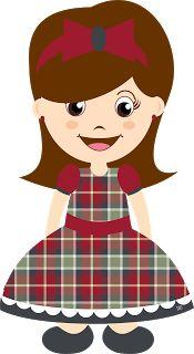 Mascotinha Caipira Grátis para baixar - Cantinho do blog Layouts e Templates para Blogger
