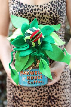 Hand Made Baby Audrey 2 in a Vintage Maxwell House Coffee Can
