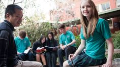 This newspaper article is about high schools in Melbourne have implemented Chinese language lessons into their schools. Students are learning about Asia and its societies, cultures, beliefs and environment.