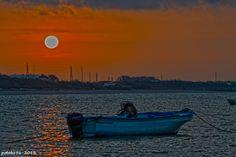 Amanecer, Barquilla y el Mar