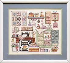 cross stitch patterns quilting - Google Search