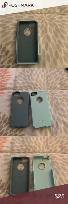 iPhone 5/SE Commuter series Otterbox case ⭐️⭐️Best Offer!!! Looking to sell as soon as possible!!!⭐️⭐️This case is practically brand new! Used only a few times and then ended up getting a new phone, case is ♥️♥️well-loved♥️♥️!!! It is a light blue shell and a rubber bluish-gray rubber case. Gorgeous color! OtterBox Accessories Phone Cases