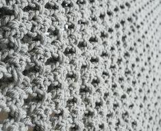 Unisex Dreieckstuch grau