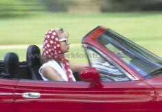 Driving convertibles!