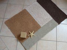 Where To Buy Plastic Carpet Runners Key: 9026188085 Beige Carpet, Diy Carpet, Crochet Home, Knit Crochet, Plastic Carpet Runner, Painting Carpet, Knit Rug, Rug Inspiration, Cheap Carpet Runners