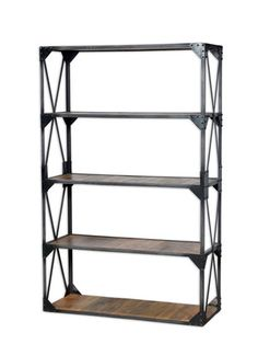 Bakers Slim Bookshelf by Bois et Cuir on Gilt Home  ($1,288.00)  $849.00