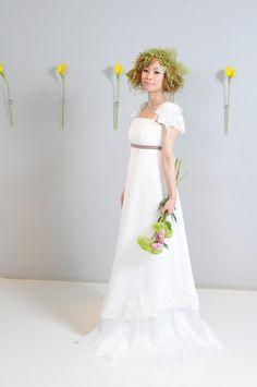 エンパイア ドレス 袖有 - Google 検索