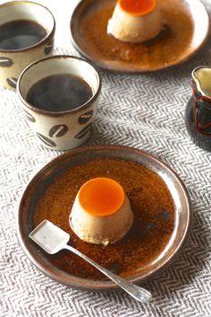 Crème Caramel and coffee...