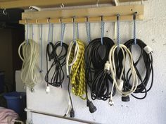 ordenar cuerdas y cables
