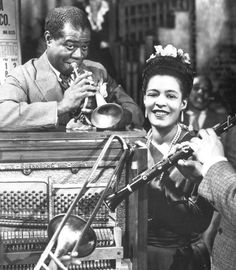 Louis Armstrong and Billie Holiday, 1947