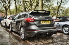 """""""The beautiful new 2016 Ford Focus RS at Queens Square, Bristol."""""""
