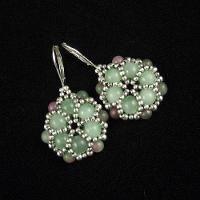 Jewelry: Earrings, Pendant - ADORNED FLOWER