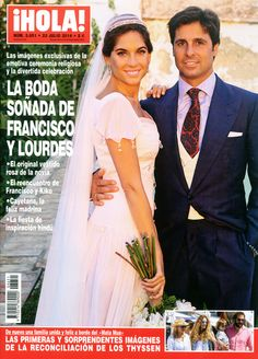 ¡HOLA! adelanta su edición con las imágenes exclusivas de la boda soñada de Francisco Rivera y Lourdes Montes #covers