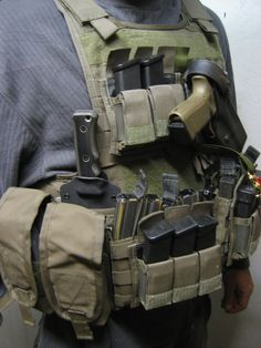 Miller Bros. Blades (MBB) MOLLE Gear Mount. (Maybe a little heavy for everyday use.)
