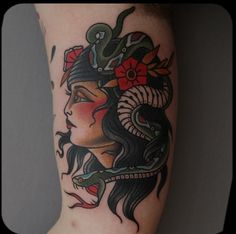 Women american old traditional tattooss