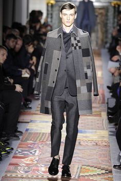 Valentino Men's RTW Fall 2014 - Slideshow - Runway, Fashion Week, Fashion Shows, Reviews and Fashion Images - WWD.com