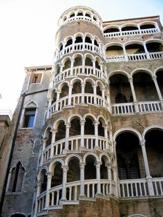 places with spiralling staircases - Contarini del Bovolo, Venice