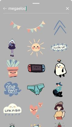 Instagram Emoji, Iphone Instagram, Instagram Frame, Instagram And Snapchat, Instagram Blog, Instagram Story Ideas, Instagram Editing Apps, Creative Instagram Photo Ideas, Cute Stickers