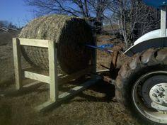 Round Hay Feeder for Goats | Hay feeder part deux