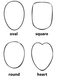 Before you commit to a certain haircut, make sure you find the best pixie for your face shape. Your face shape will fall in one of these four categories: square, round, heart, and oval.
