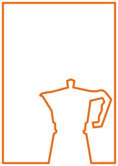 MOKA Pot Poster in printable PDF format by kiworks on Etsy, €3.00
