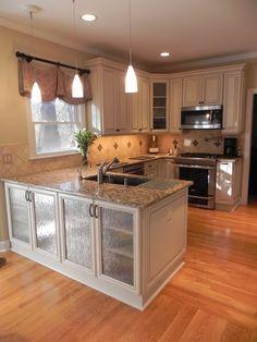kitchen, granite countertops