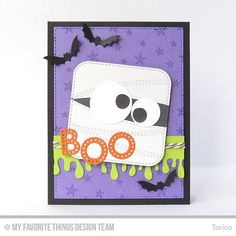 Instagram media by torico27 - I made a fun Halloween card for this weeks MFT Wednesday Sketch Challenge!  #mftsketchchallenge #mftstamps #dienamics #mftwsc #halloween #handmadecards #cardmaking #papercrafting