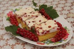 Ríbezľový koláč so snehom - recept
