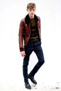 【メンズファッション】レザージャケット、ライダースの着こなし・コーディネート集 - NAVER まとめ