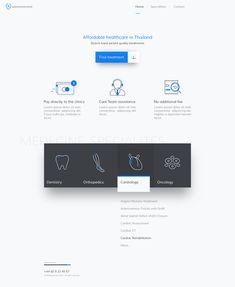 Medical Homepage Design