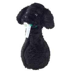 Poodle Spray Bottle Cover Black