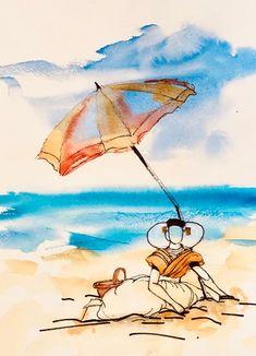Lekker veel ruimte op strand Folklore, Pikachu, Deco, Painting, Fictional Characters, Transfer, Holland, Shop Signs, The Nederlands