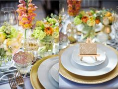 mini easel place cards {PetitePearlEvents.com photo by Vasia-Weddings.com}