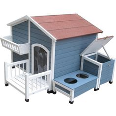 Found it at Wayfair - Pointe Elizabeth Garden Cottage Dog House