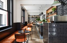 Located on Flinders Lane, Melbourne, Threefold is a carefully curated food store and eatery designed by Travis Walton