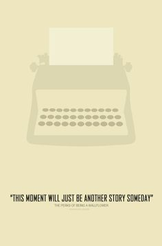 minimalist movie poster for perks of being a wallflower [book and movie by stephen chbosky]