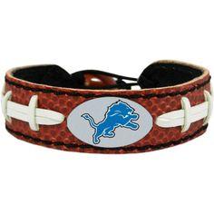 GameWear Detroit Classic Football Bracelet, TEAM