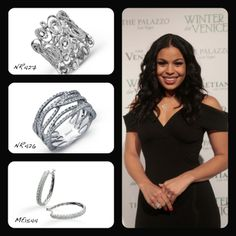 Jordan Sparks accessorizes at the Red Carpet with all Simon G. #SimonG
