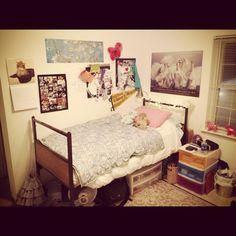 Dorm room sophomore year @Katherine Matson