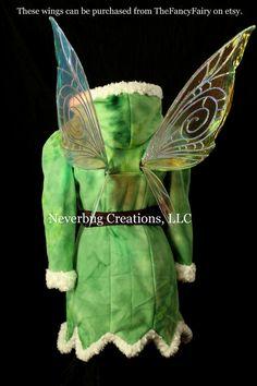 Etsy の Tinkerbell Winter Fleece Coat by NeverbugCreations