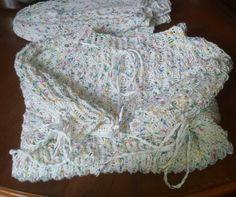 Sommerpulli für Enkelin selfmade 100% Baumwolle