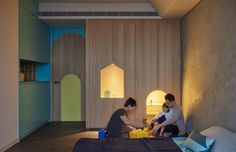 A Playful Apartment in Taiwan for a Modern Family Lifestyle - Design Milk