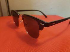 Modern Eyeware - Black Tone Bronze Metallic Covering Sunglasses